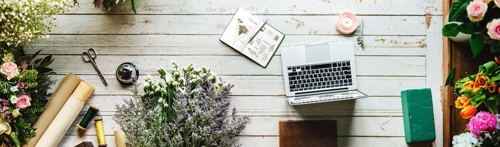 Florist Workspace. Setting up your new business