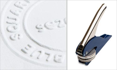 Emboss stamping tool